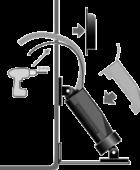Instatrim Classic – cylinder installation